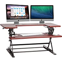 Halter ED-600 Preassembled Height Desk Sit / Stand Elevating Desktop (Black)