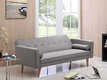 Deco Confort - Canapé Clic-Clac Banny - Gris clair