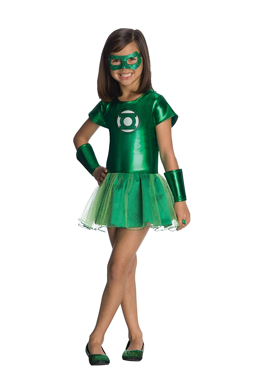 Green lantern costume for women