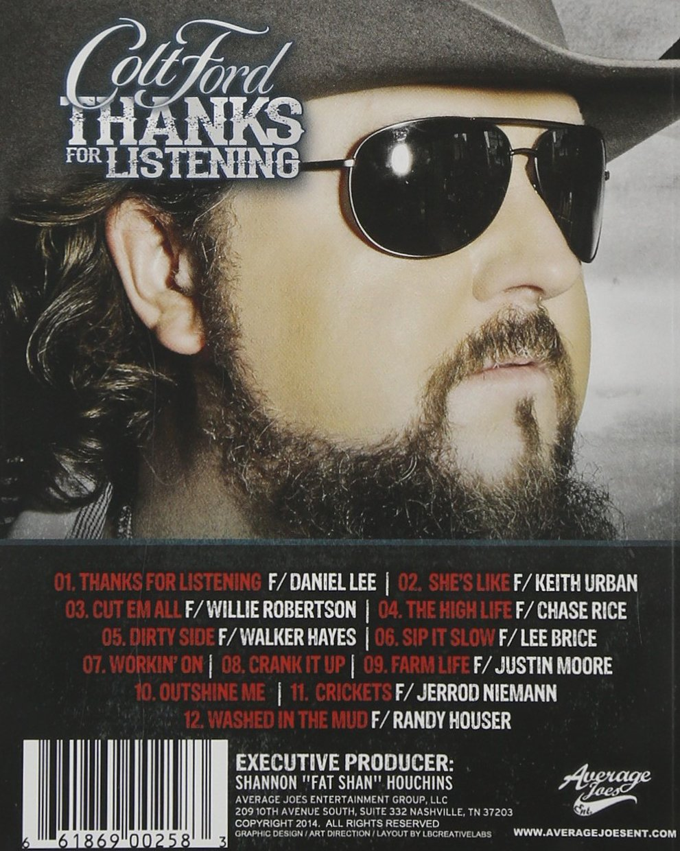 Amazon.com Colt Ford Thanks