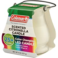 Coleman Color Changing LED Scented Candle