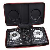 Aproca Hard Carry Travel Case Bag for Pioneer DJ DDJ-SB3 / DDJ-SB2 / DDJ-400 DJ Controller (Black-New Version) (Color: Black-New Version)