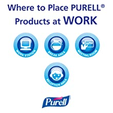 PURELL 3659-12 Advanced Instant Hand Sanitizer, 12 fl. oz. Pump Bottle (Case of 12)