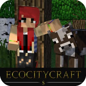 EcoCityCraft - Block World Pixel Craft Explore Mine Builder Sandbox with Survival Pocket Edition PE from Free Fun Games