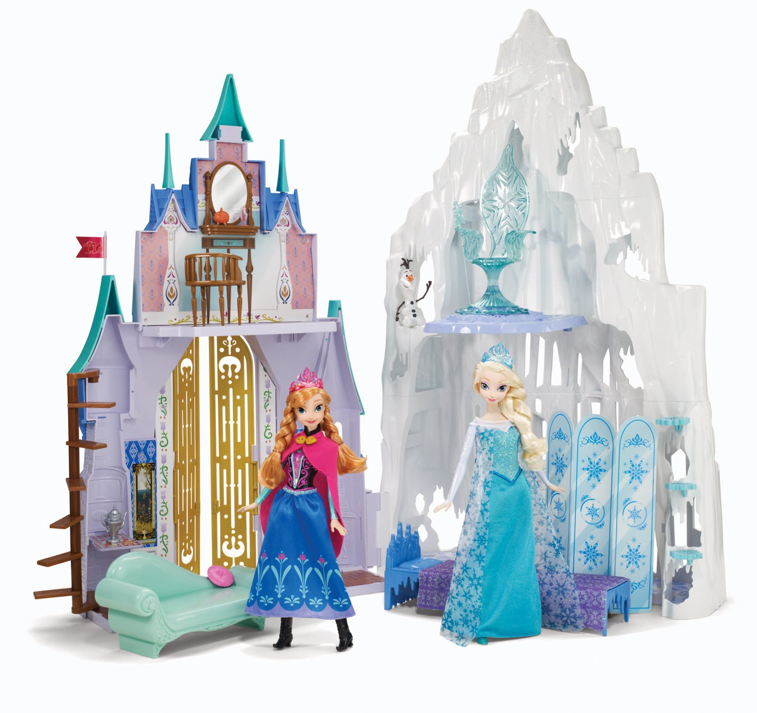 buy disney frozen castle ice palace playset online at low prices in india amazonin