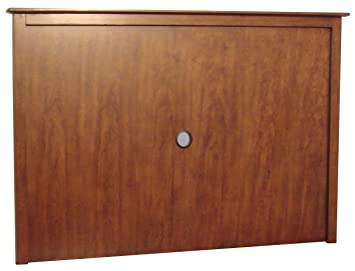 Home Styles Furniture Jamaican Bay Solid Wood Back Panel in Soft Mahogany Finish