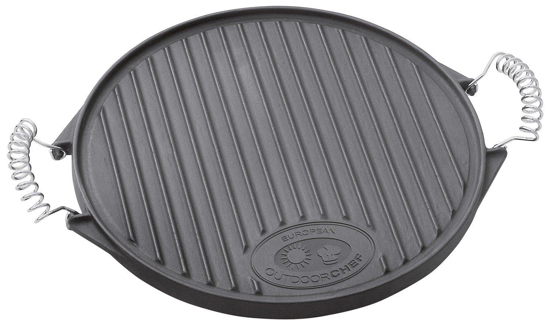 OUTDOORCHEF Gusseisenplatte Plancha, Ø39cm günstig online kaufen