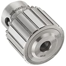 "Llambrich CY Plain Bearing Heavy Duty Threaded Mount CK4 Keyed Drill Chuck, 3/8""-24 Mount, 1-1/2"" Chuck Diameter, 1/64""-1/4"" Capacity"
