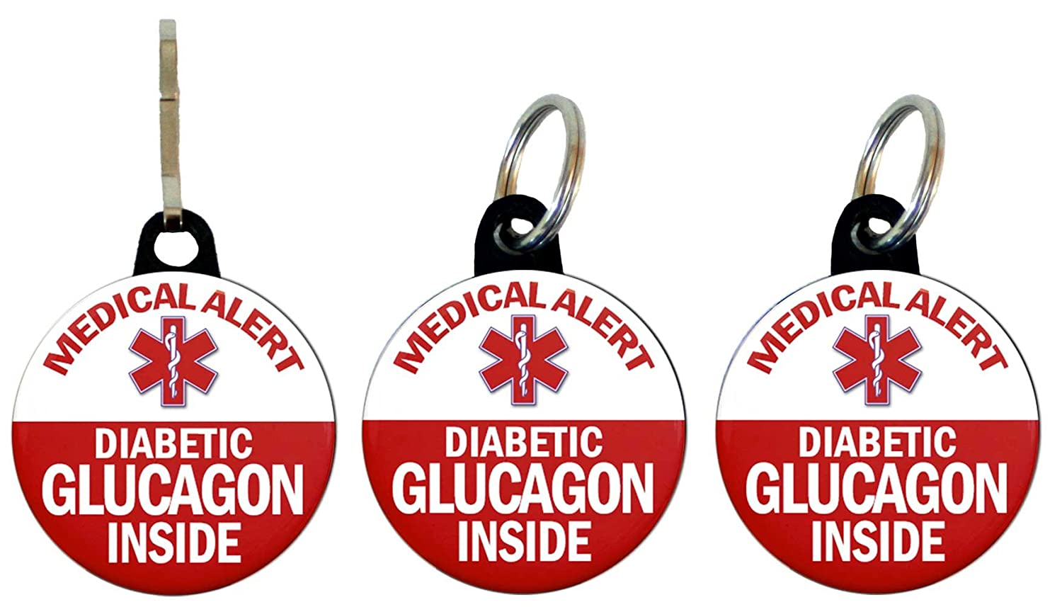 Henry the Buttonsmith Glucagon Diabetic Bag Tag Set henry cotton s