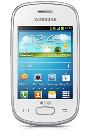Samsung Galaxy Star GT S5282  Ceramic White  available at Amazon for Rs.4990