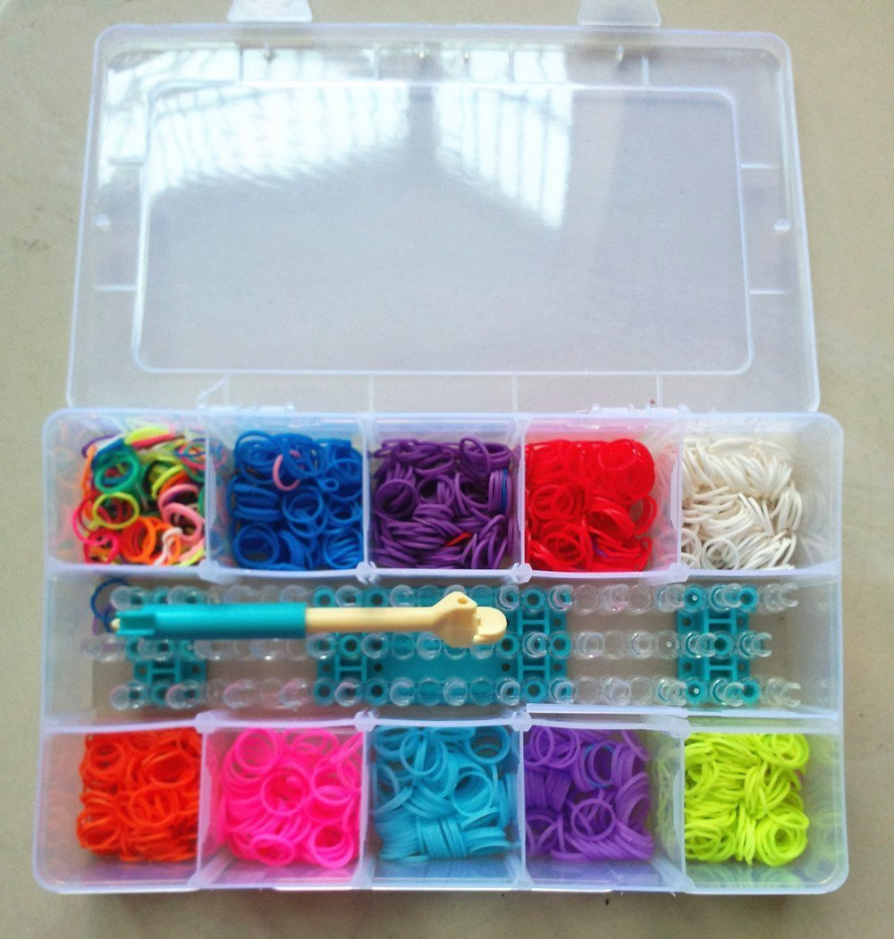 Ateamart Loom Bandz Kit & Clips Collection