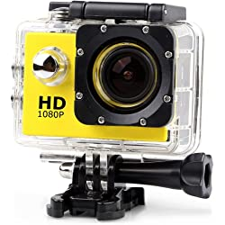 Lightdow LD4000 1080P FHD Sports Action Camera & Accessory with Bonus Battery