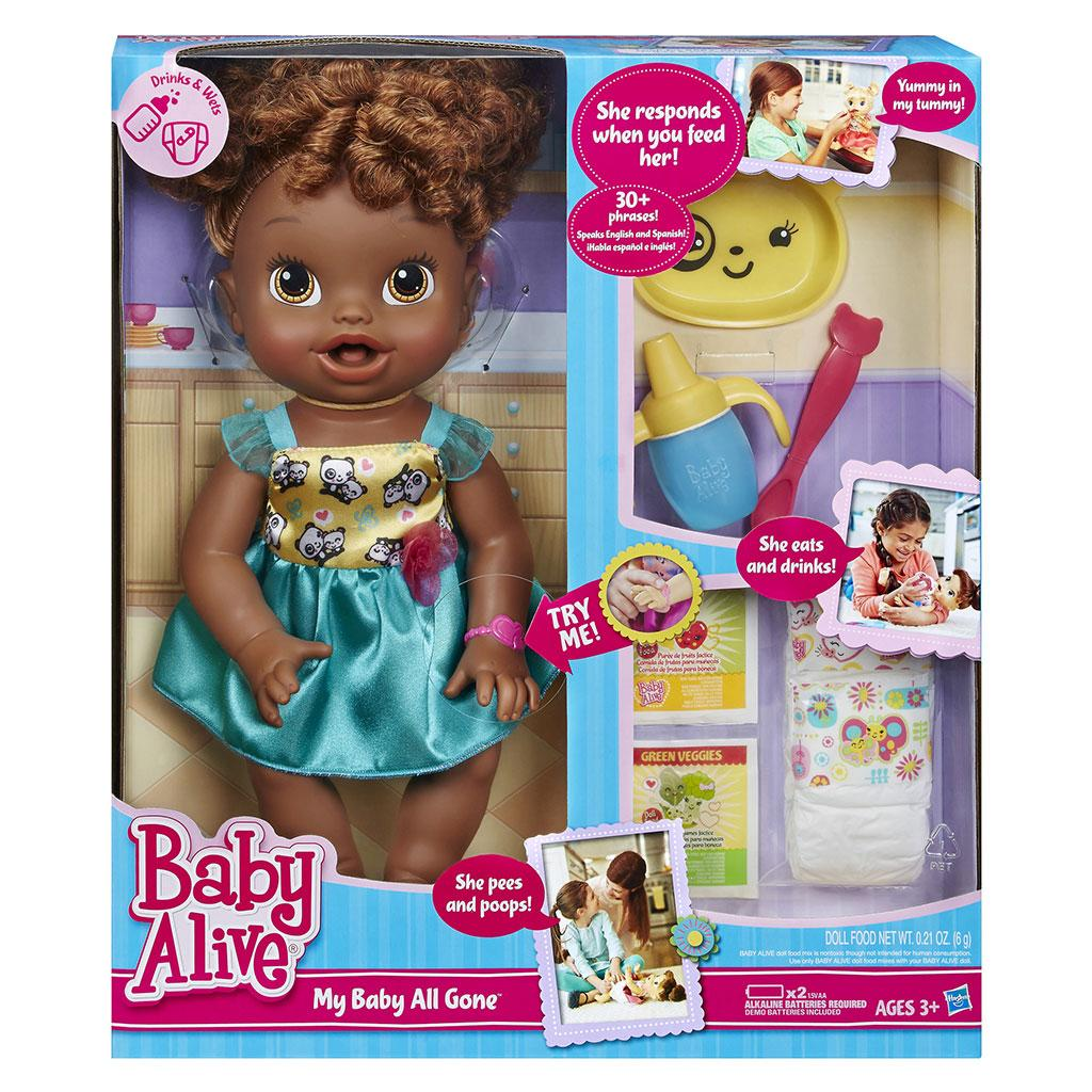 Amazon.com: Baby Alive My Baby All Gone African-American Doll: Toys