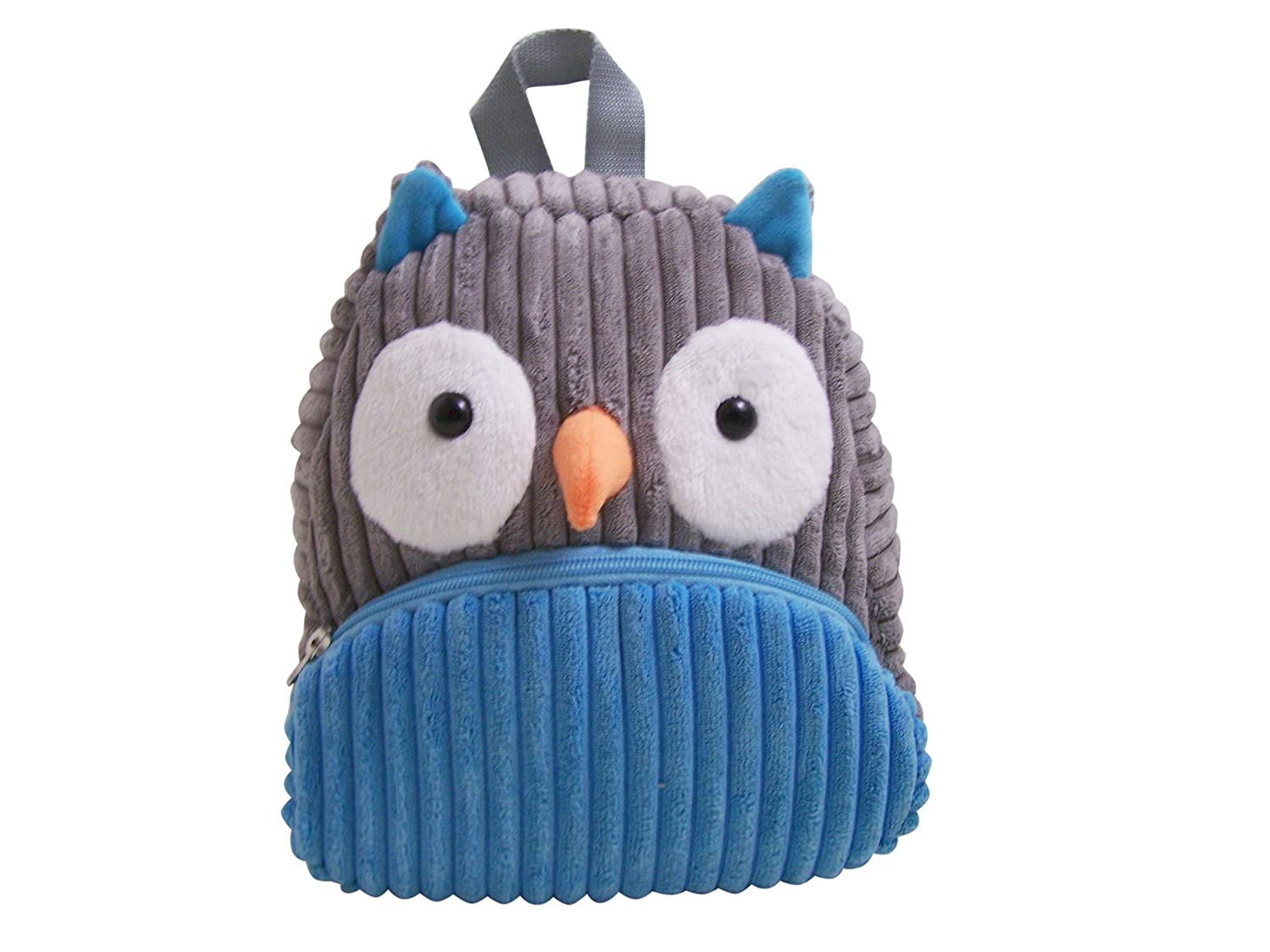 Sassafras CuddlePack Corduroy Backpack, Owl