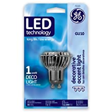 GE Lighting 73153 1-Watt Energy Smart GU10 LED Light Bulb
