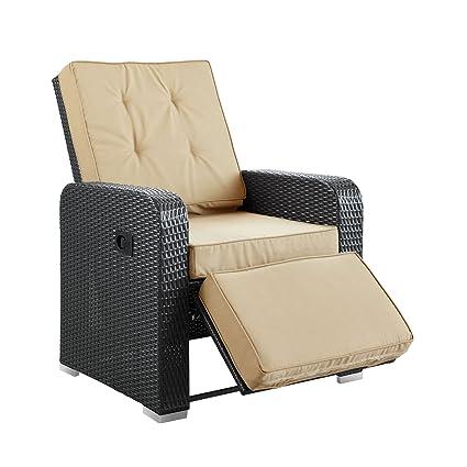 Reclinable Patio Patio Armchair Recliner