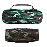 Esimen Camouflage Hard Case for JBL Charge 4 Portable Bluetooth Speaker Carry Bag Protective Travel Box (Tamaño: for JBL Charge 4)