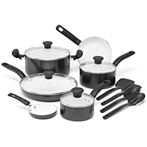 T-fal C921SE Initiatives Ceramic Nonstick Cookware Set Review