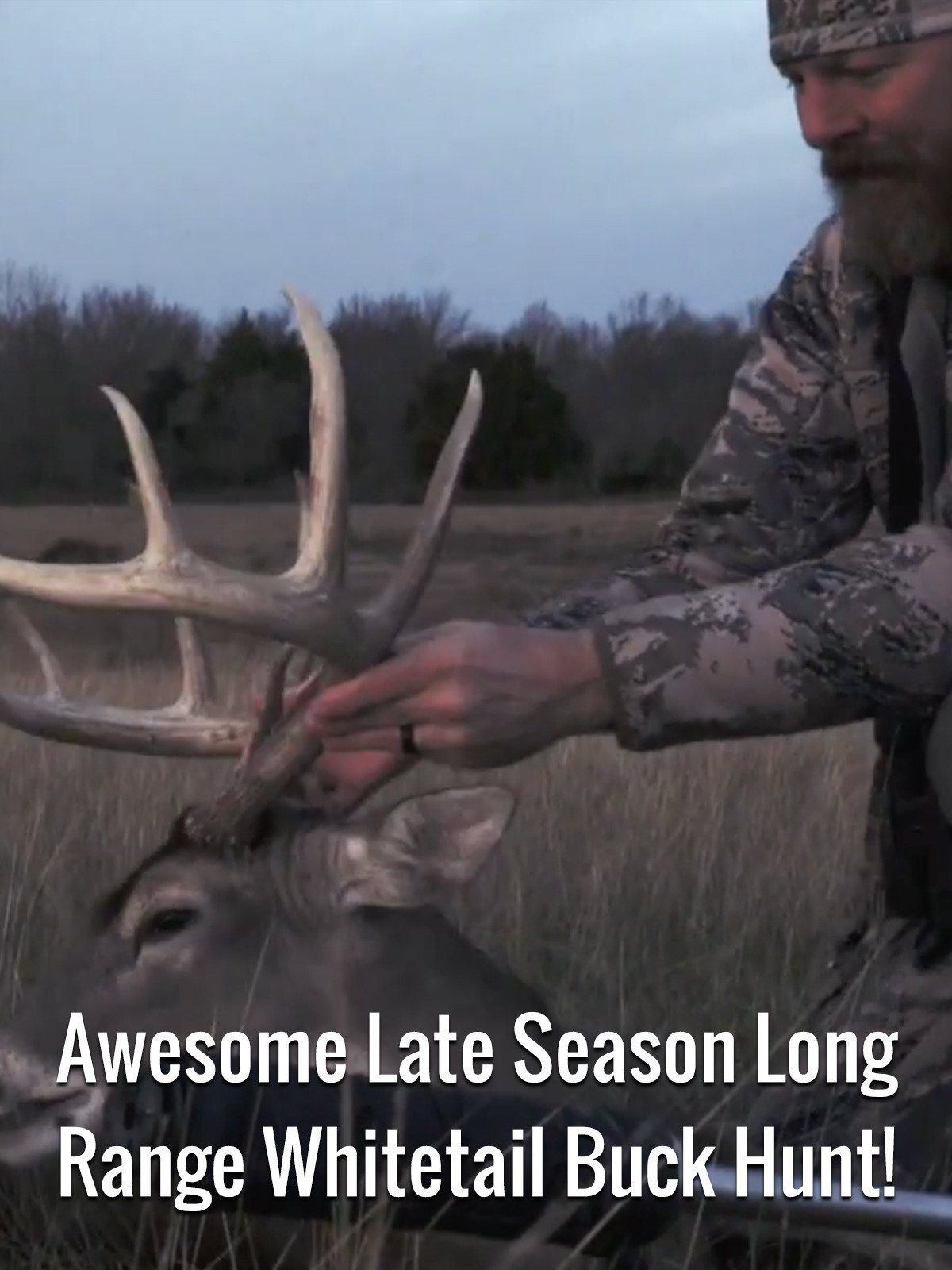 Awesome Late Season Long Range Whitetail Buck Hunt!