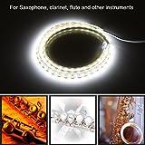 Leak Light for Saxophone Clarinet Flute Oboe LED Strip Light Leak Detection Tool for Woodwind Instrument Repair 220V EU Plug