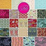 Tula Pink MOON SHINE Precut 5-inch Charm Pack Cotton Fabric Quilting Squares Assortment Free Spirit FB6CPTP.22014