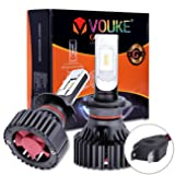 G+ H7 High Low beam headlamp Fog Driving Light 8000 LM With Extremely Bright Phi ZES AEC Chips All-in-One LED Headlight Conversion Kit Halogen Head light Replacement 6500K Xenon White,1 Yr Warranty