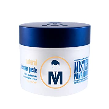 Mister Pompadour Natural Beeswax Paste for hair stylists