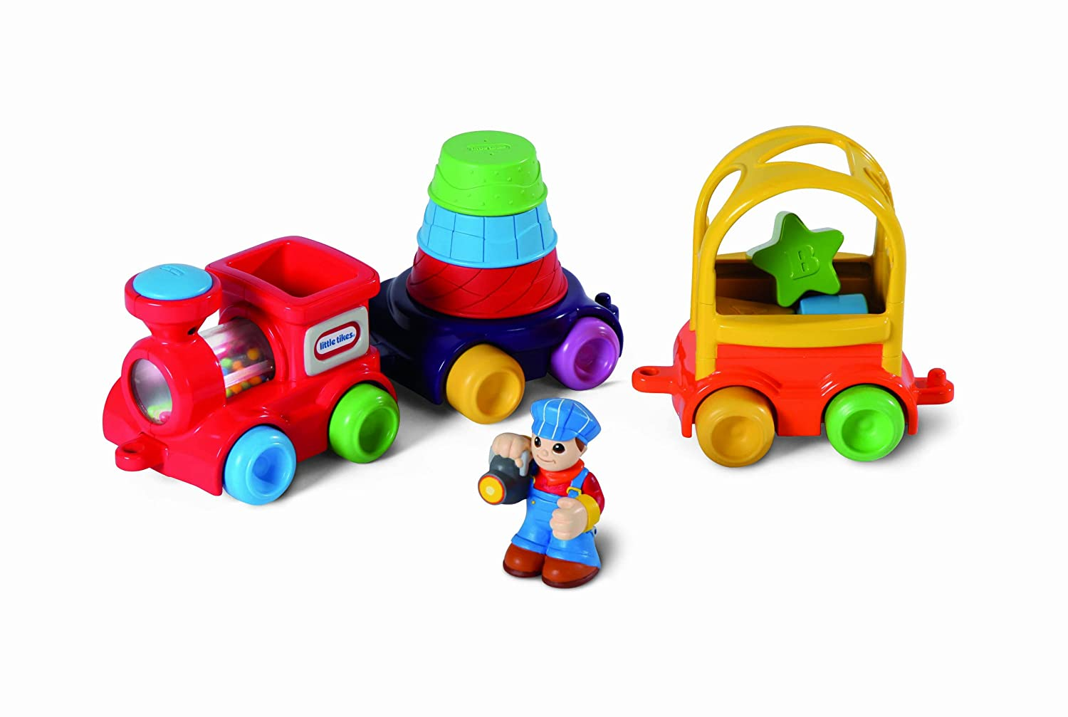 An Image of Little Tikes DiscoverSounds Sort and Stack Train