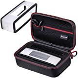 Smatree Hard Travel Carrying Case Compatible with Black Soft Cover for Bose Soundlink Mini I and Mini II Speaker (Color: Hard Case+Soft Cover)