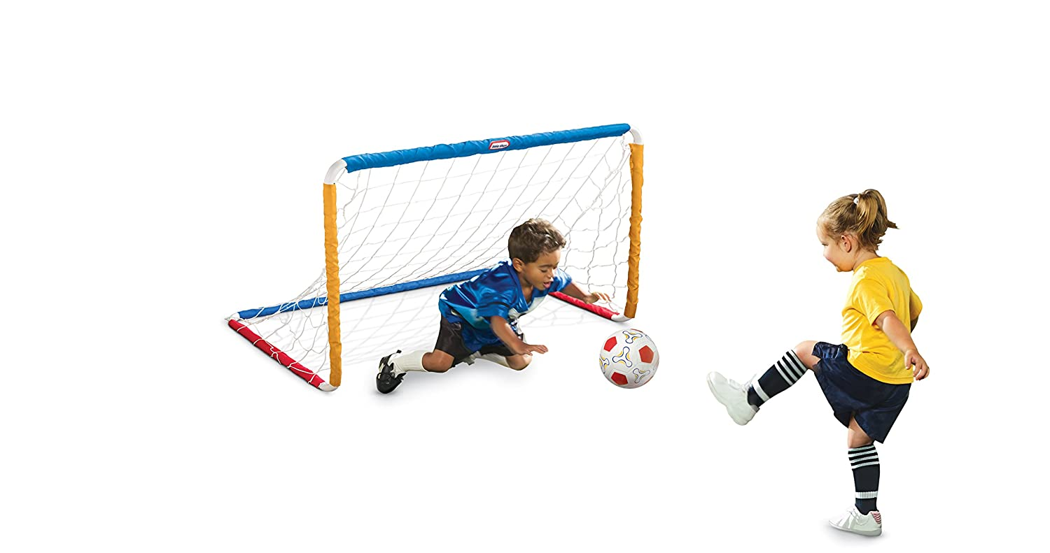An Image of Little Tikes Easy Score Soccer Set, Primary Colors