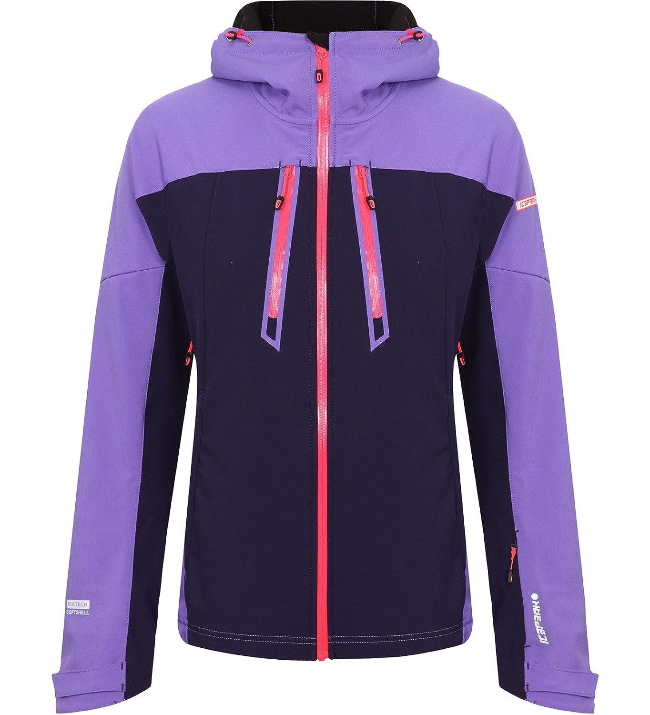 Icepeak Leola Softshelljacke Icetech Damen purple/dunkelblau