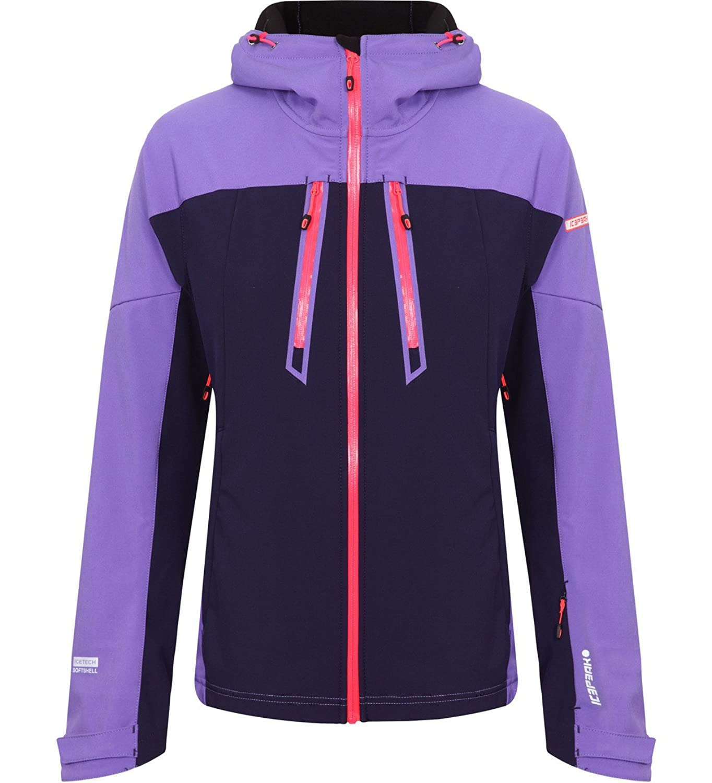 Icepeak Leola Softshelljacke Icetech Damen purple/dunkelblau jetzt bestellen