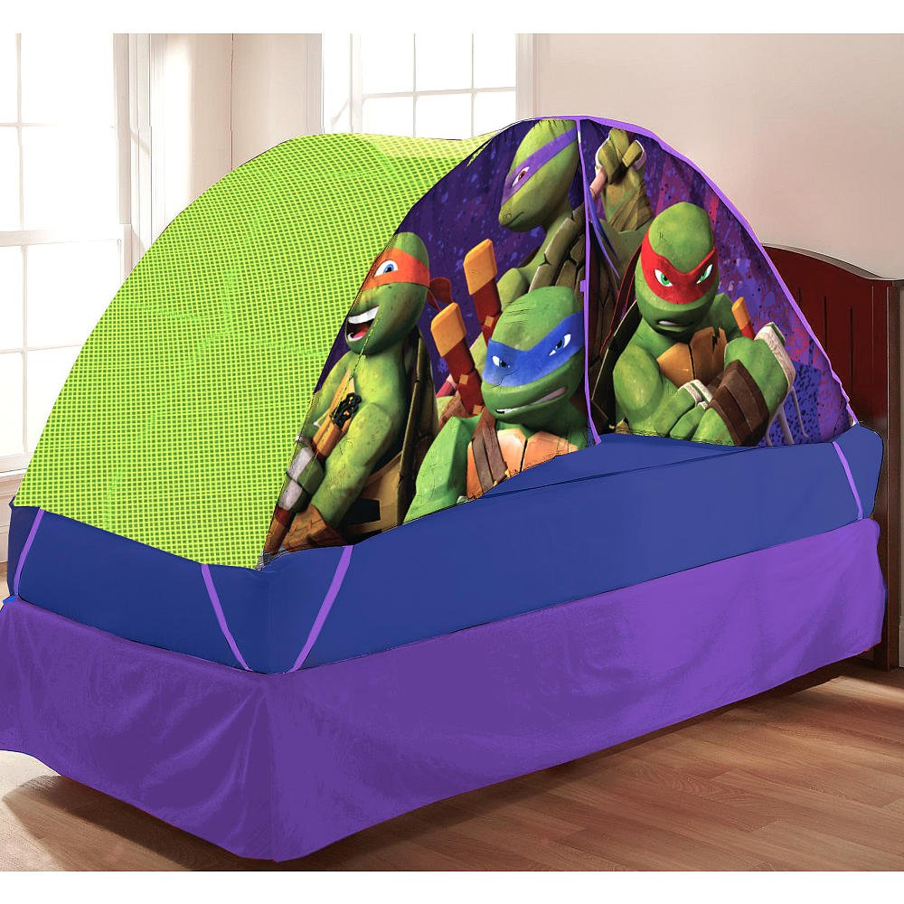 Teenage Mutant Ninja Turtles Bed Tent with Pushlight