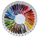 Shilpi Quilling Paper 1750 Strips Set - 3mm, 35 Colors, 35 packs (Tamaño: 3mm)