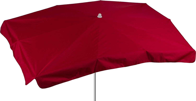 beo Sonnenschirme wasserabweisender, rechteckig, 130 x 200 cm, rot online bestellen