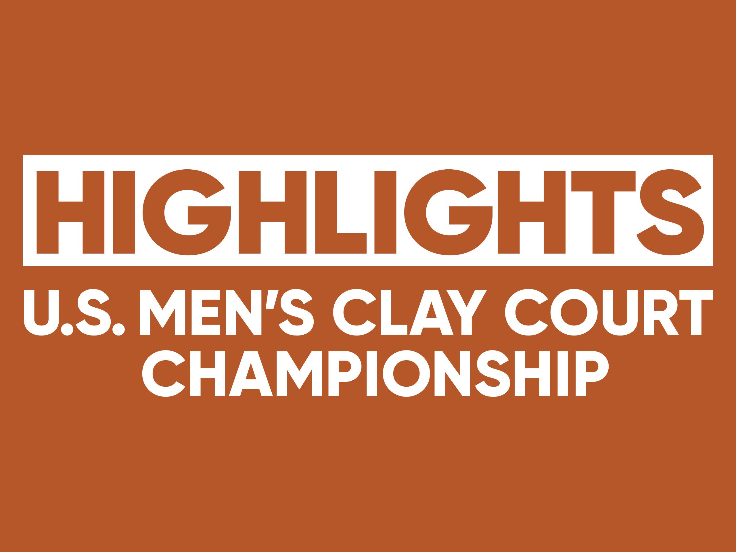 2019 Fayez Sarofim & Co U.S. Men's Clay Court Championship, ATP 250 - Day 1 on Amazon Prime Video UK