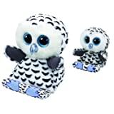 Ty Omar the Owl Peek A Boo Tablet Holder & Phone Holder Gift Set (Tamaño: 15 inches)