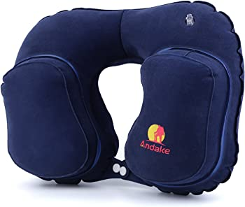 Andake Inflatable Travel Pillow