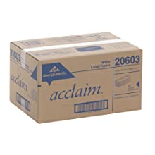 "Georgia-Pacific Acclaim 20603 White C-Fold Paper Towel, 13.2"" Length x 10.1"" Width (10 Packs of 240)"