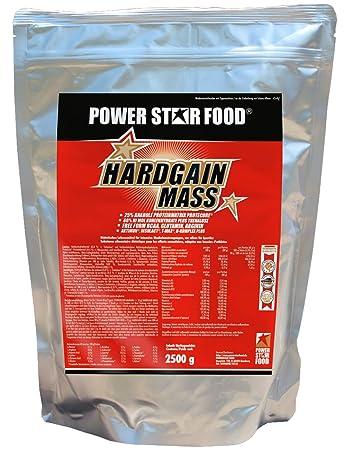 HARDGAIN MASS WEIGHT GAINER, Zip-Beutel à 2500 g, Mehrkomponenten-Protein mit Hi-Mol Kohlenhydrat-Hydrolysat plus BCAA fur Hardgainer die schwer zunehmen. Geschmack: Vanille