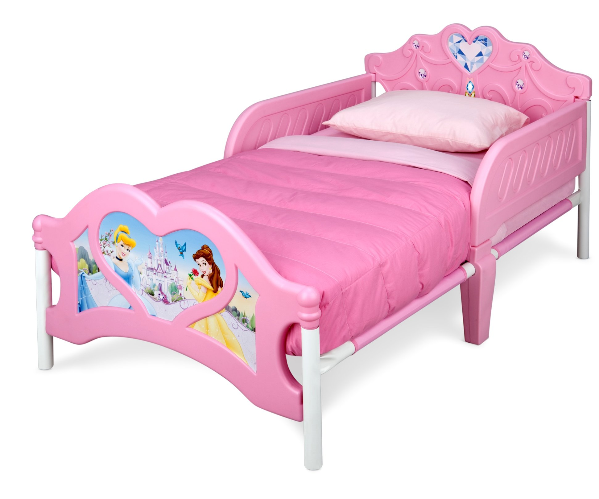 Disney Princess 3D Toddler Bed