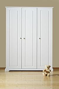 Schardt 06 482 52 02  Schrank Felice 3 Türen, weiß  BabyKundenbewertung und Beschreibung