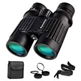 Eyeskey Binoculars for Adults-10X42 Waterproof Hunting Binoculars for Professional Traveler- Wide Field of View, More Clear -Great for Camping, Hunting, Travelling, Concert, Surveillance (Color: *10X42 binoculars)