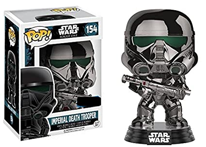 Funko Figurine Star Wars Rogue One - Chromed Imperial Death Trooper