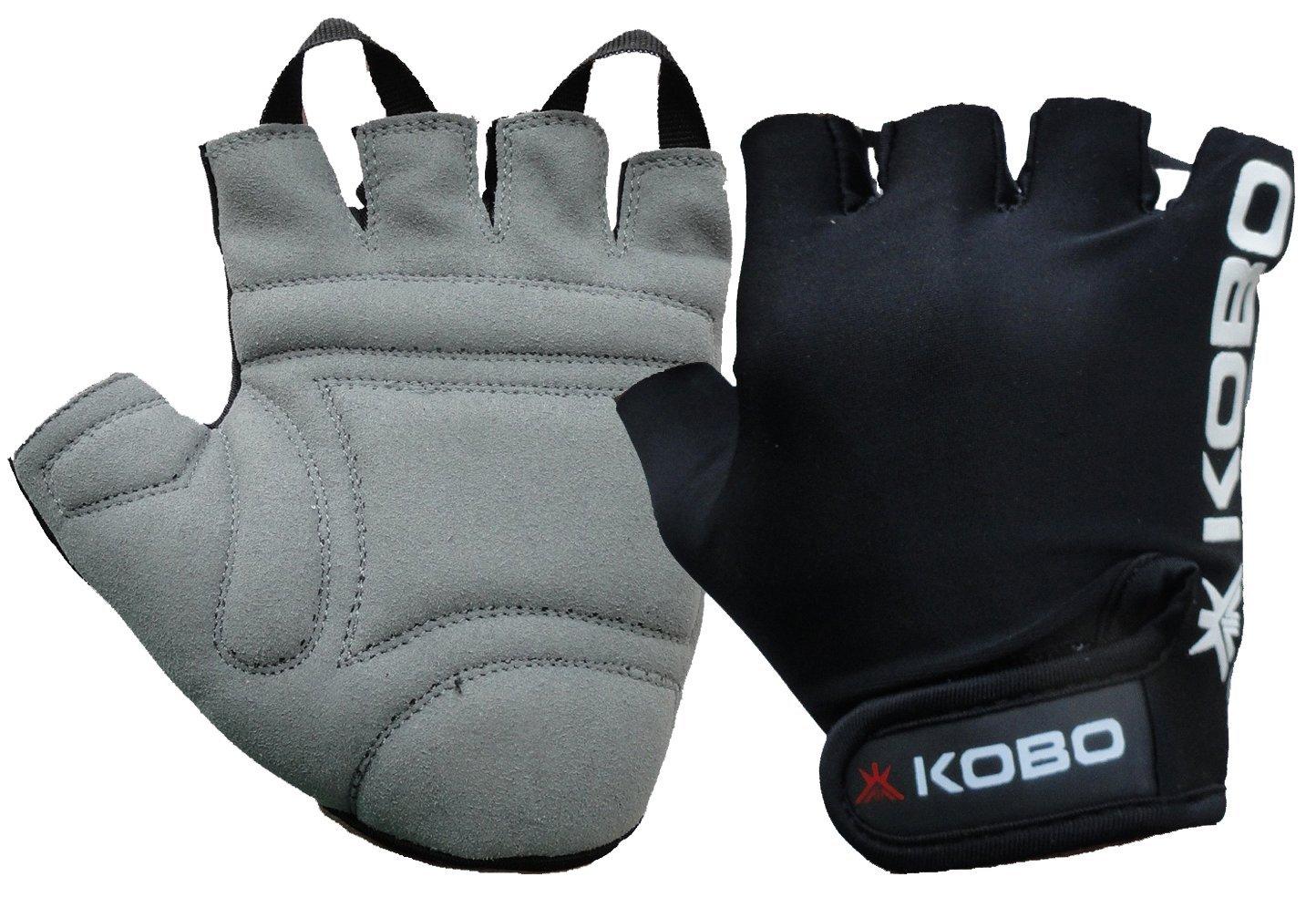 Mens leather gloves online india - Kobo Fitness Gloves Weight Lifting Gloves Gym Gloves Bike Gloves Imported
