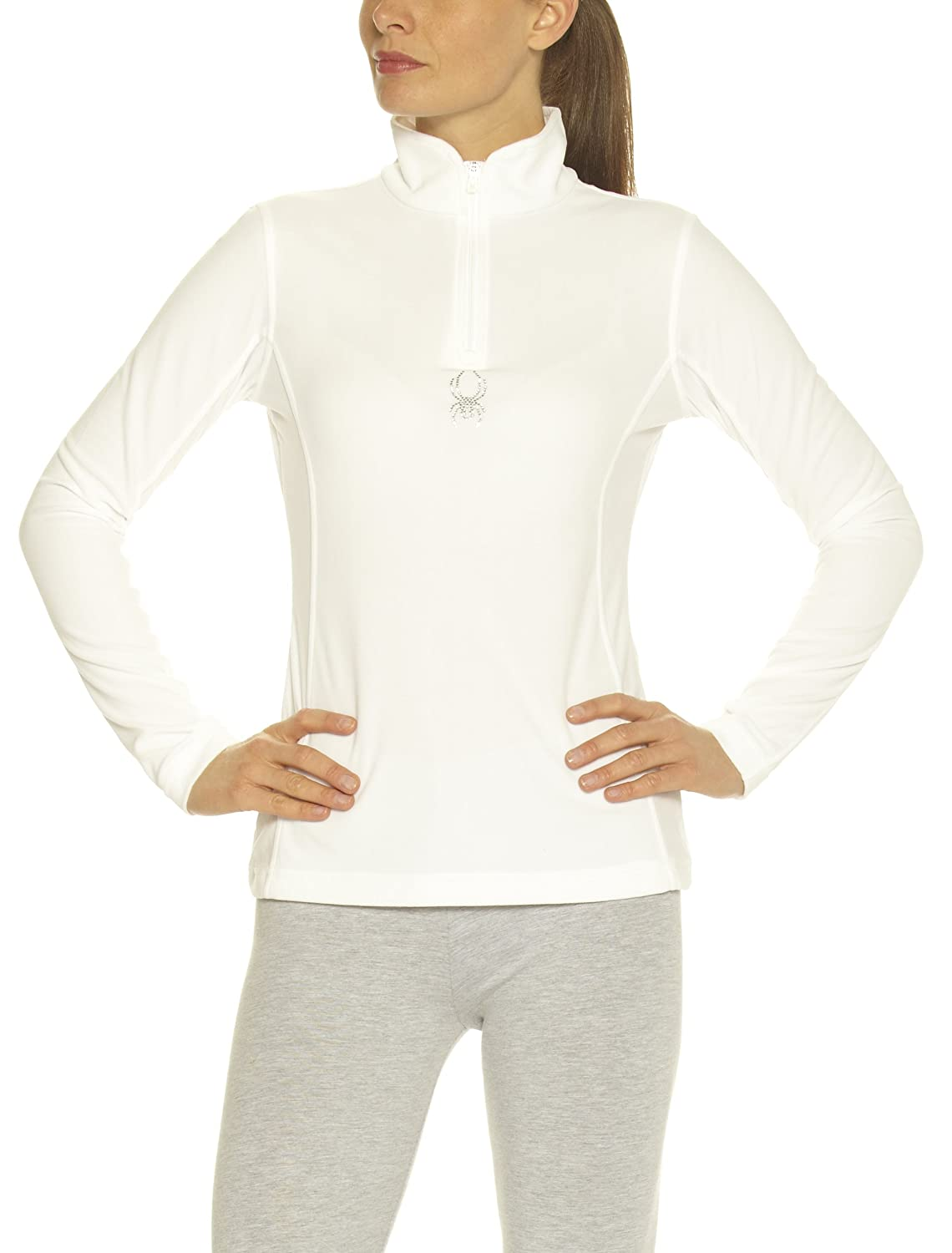 Spyder Shimmer Bug Fleece/Velour T-Neck Damen Fleece günstig bestellen