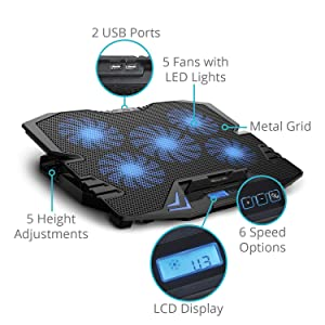 """Laptop Cooling Pad 
