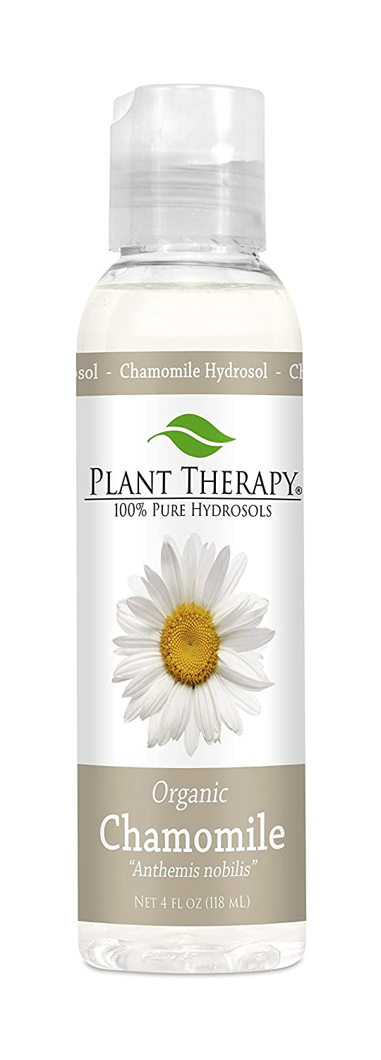 Organic Roman Chamomile Hydrosol (Flower Water, Floral Water, Hydrolats, Distillates) Bi-Product of Essential Oils organic therapy