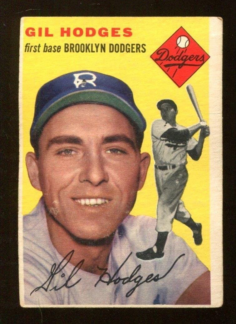 1954 Topps Baseball Card