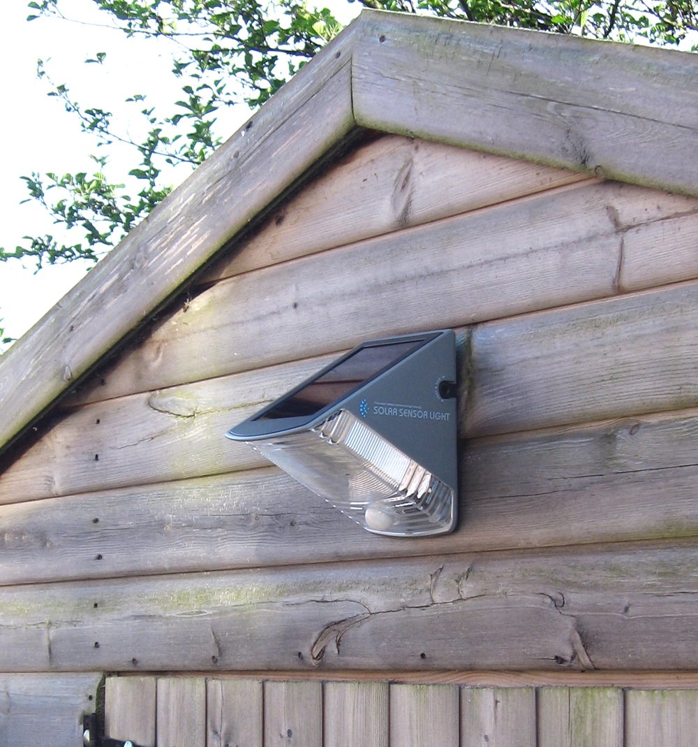 Good Solar/battery Powered Security Light For Outside The